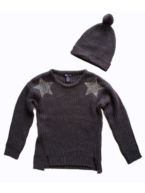83255346daa Product Image Limited Too Embellished Chenille Sweater With Beanie
