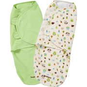 SwaddleMe Swaddling Blanket, Woodland Friends, Large, 2pk