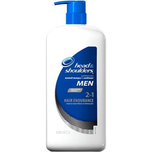 Head & Shoulders 2 N 1 Hair Endurance For Men Shampoo & Conditioner, 33.9 fl oz