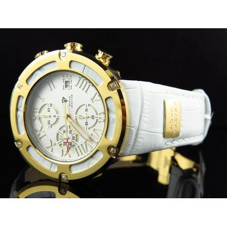 46 Watch - W#346 El Russo Cutout Diamond Watch 46 MM (.20 Ct)