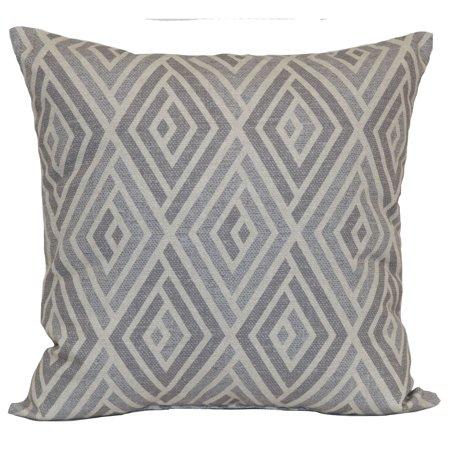 Mainstays Diamond Decorative Throw Pillow, 18