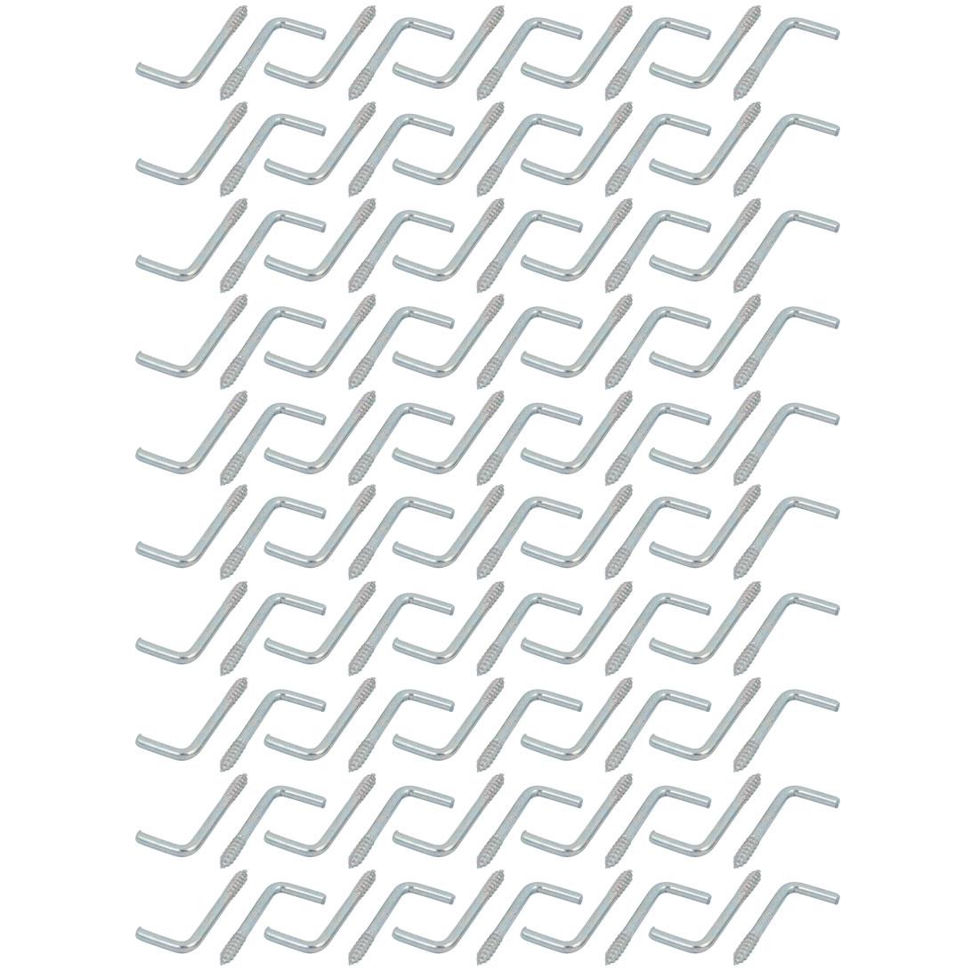 Long 34mm acier carbone zingué, forme aide vis autotaraudeuses 100pc - image 2 de 2
