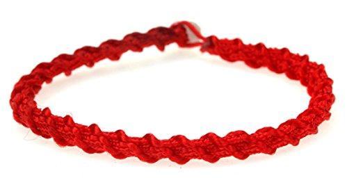men/'s red bracelet protection bracelet red kaballah bracelet Red rope bracelet