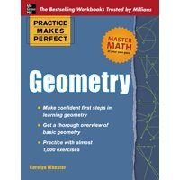 Practice Makes Perfect (McGraw-Hill): Geometry (Paperback)