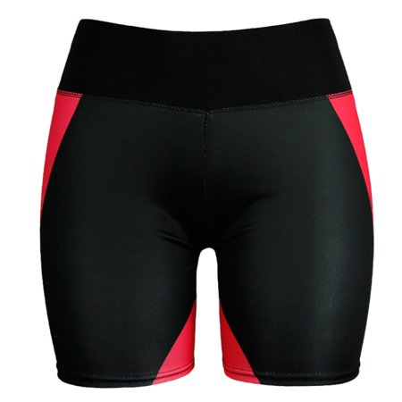 Hirigin Jogger Shorts 2019 New Geometric Print Women Running Shorts Sport Gym Yoga High Waist Fitness Short Pants Workout Casual Beach Yoga