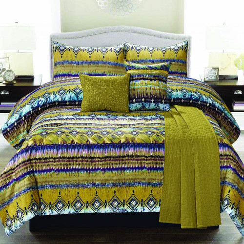 Luxury Home Morroco 6 Piece Comforter Set