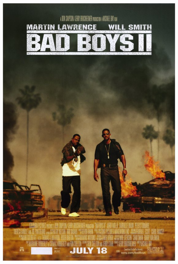 Bad Boys II (2003) 27x40 Movie Poster by Pop Culture Graphics