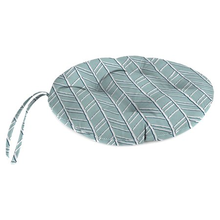 Superb Jordan Manufacturing Outdoor Round Bistro Chair Cushion Bogatell Home Remodeling Inspirations Cosmcuboardxyz