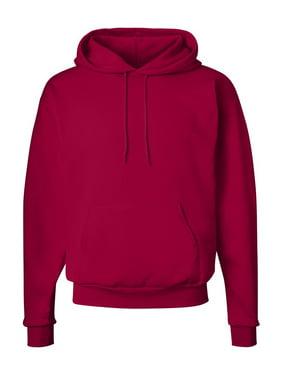 Hanes Men's Pullover EcoSmart Fleece Hoodie, Navy Heather, XL