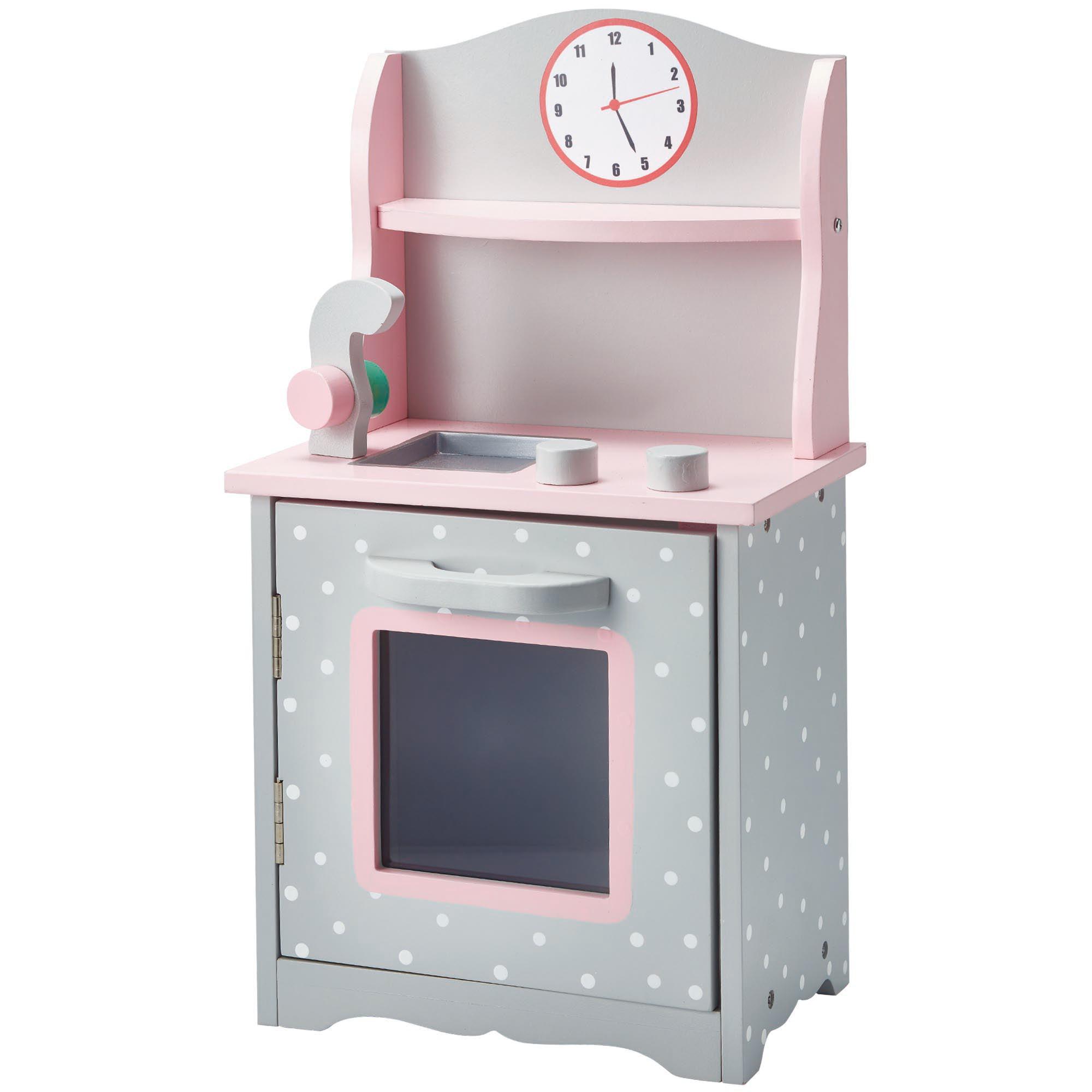 "Olivia's Little World - Polka Dots Princess 18"" Doll Sweet Kitchen - Grey"