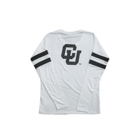 University of Colorado Long Sleeve Relaxed Crew- Buffaloes - University Of Colorado Buffaloes