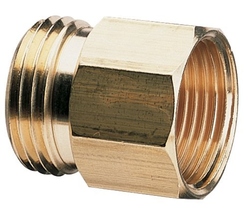 Nelson Brass Pipe To Hose Fitting; Male 3/4 NPT X 3/4