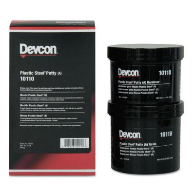Devcon 10120 Gray Plastic Steel Putty (A), 4 lb. Kit