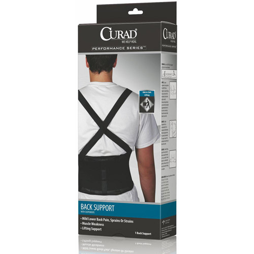 Curad Back Support with Suspenders