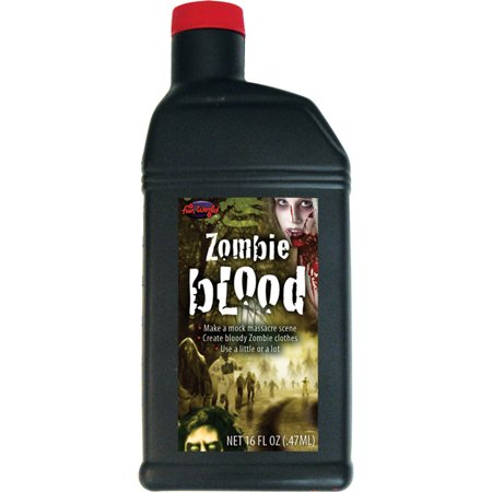Morris Costumes Adult Unisex Dark Rich For Zombie Scary Look Red Blood, Style FW9626