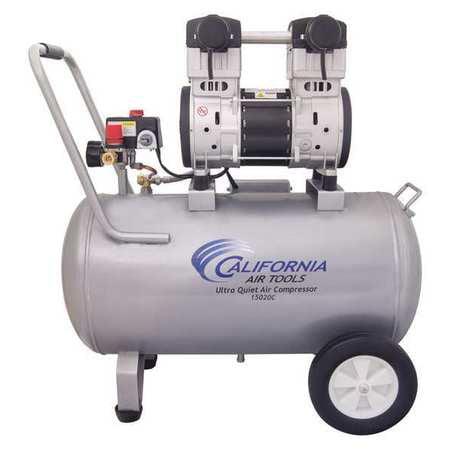 加利福尼亚空气工具15加仑2马力便携式空气压缩机