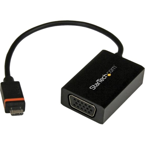 Startech SLMPT2VGA SlimPort / MyDP to VGA Video Converter  Micro USB to VGA Adapter for HP ChromeBook 11  1080p