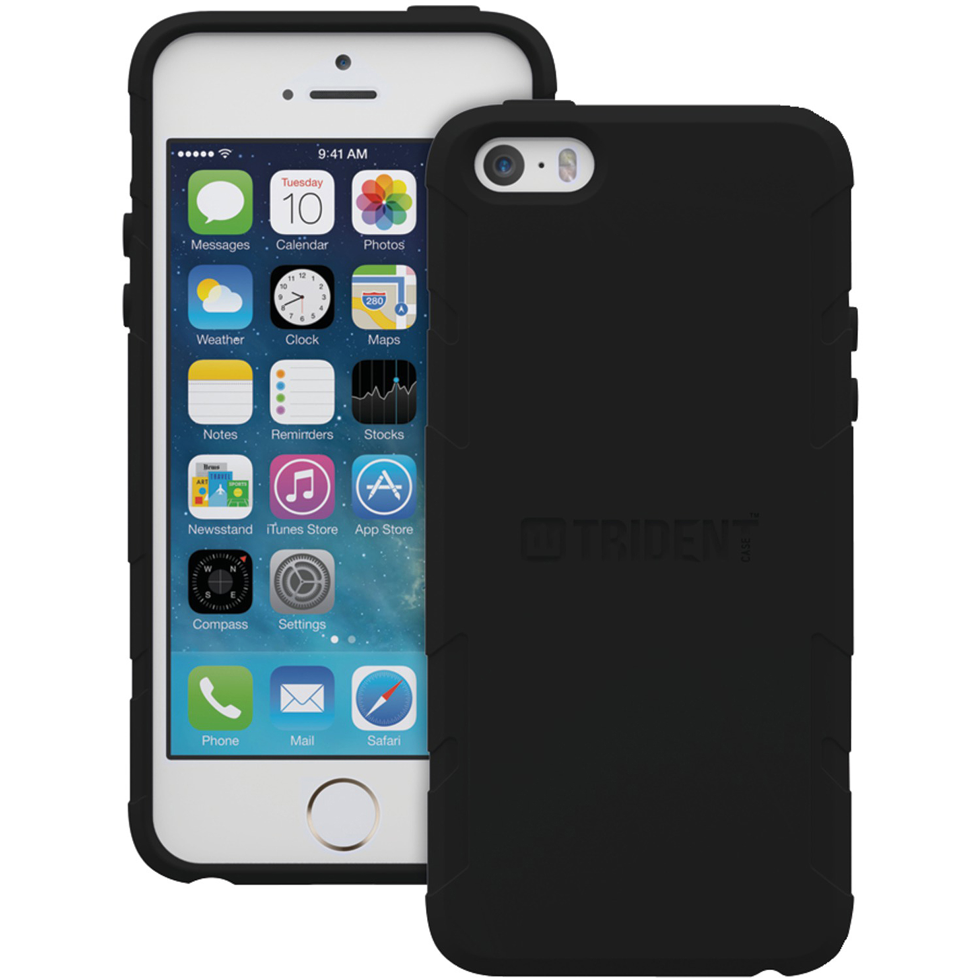 Trident Perseus Series Case for iPhone SE 5 5S Black *PS-APL-IPH5S2-BK