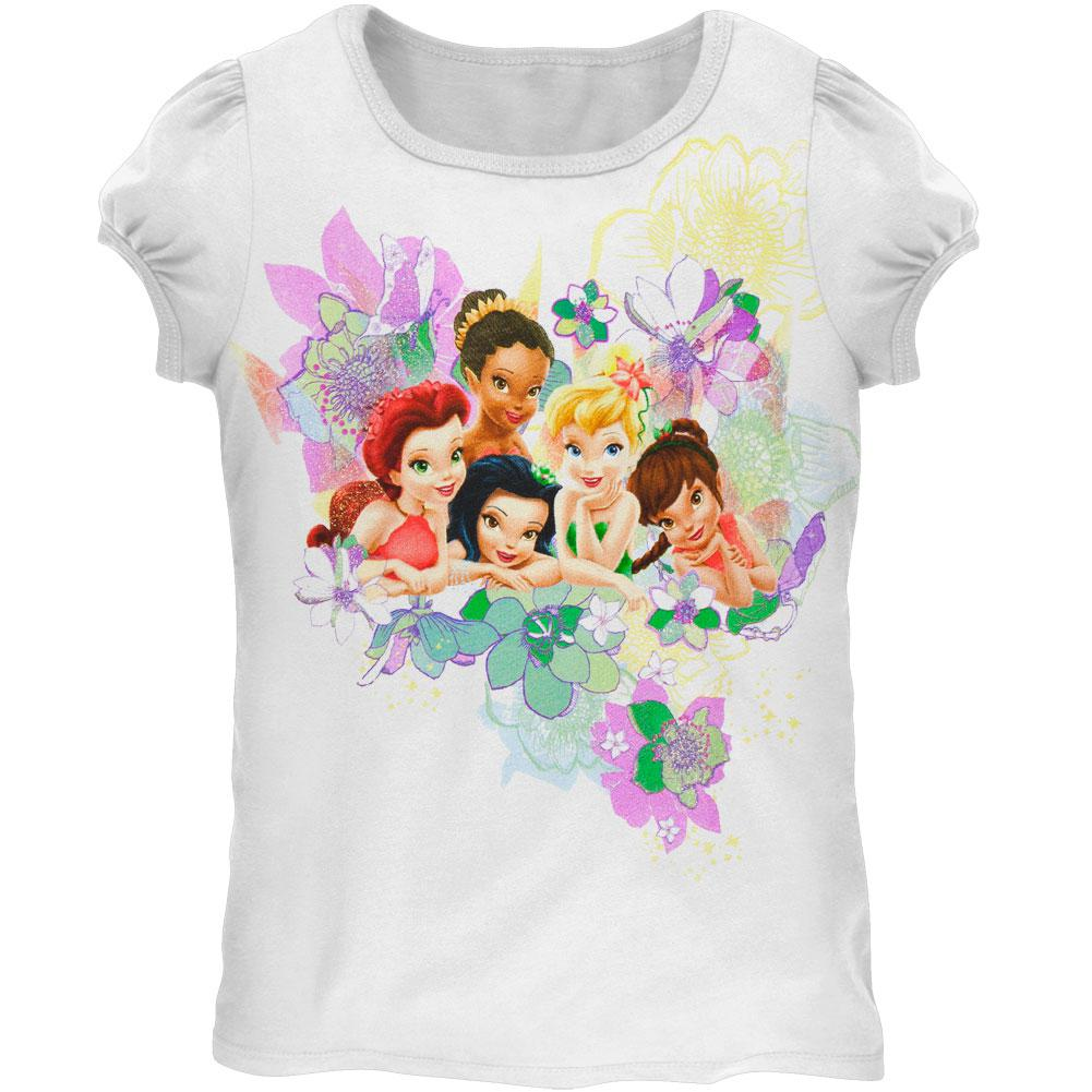 Disney Fairies - Group Meadow Juvy Girls T-Shirt