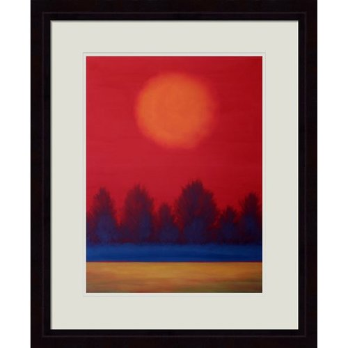 Hadley House Co Summer Solstice by Daniel Lager Framed Painting Print by Hadley House Co
