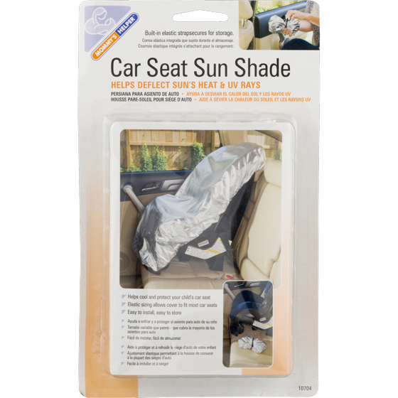 Car Seat Sun Shade Cover - Keep Your Baby's Carseat at a