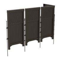 Suncast Resin Wicker Outdoor Screen Enclosure, FSW4423