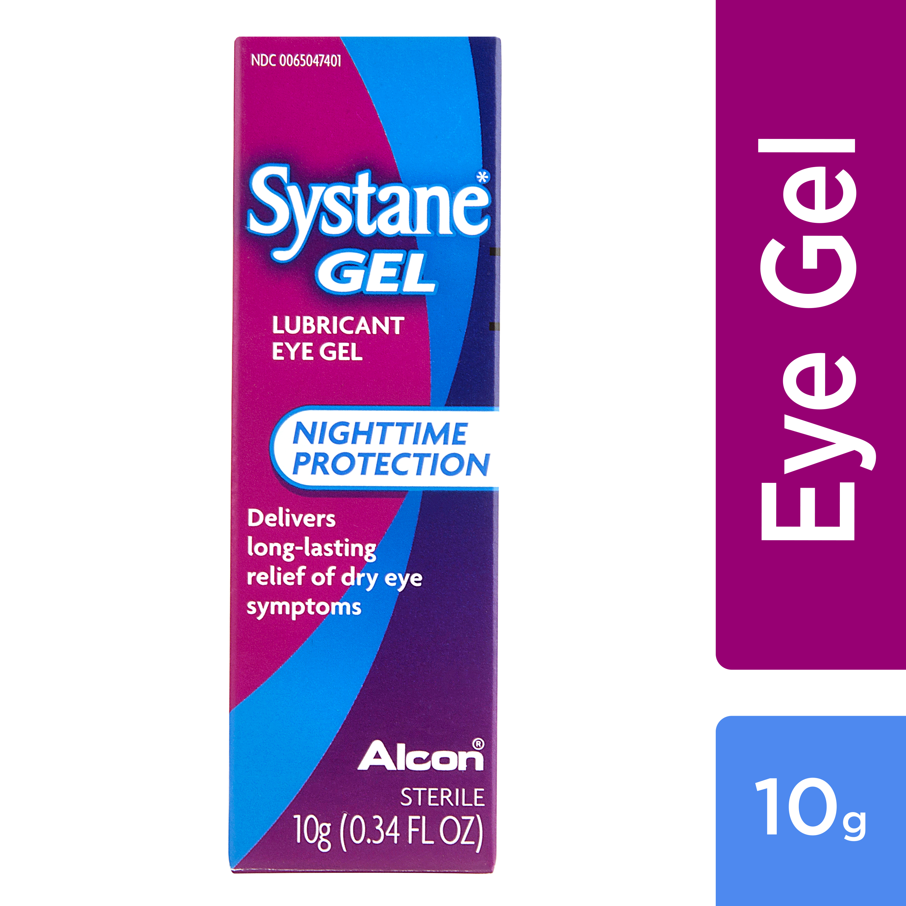 Systane Gel Lubricant Eye Gel Nighttime Protection, 0.34 FL OZ