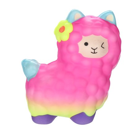 Squishies Adorable Llamas Slow Rising Fruits Scented Squeeze Stress Relief Toys](Stress Relief Toys)