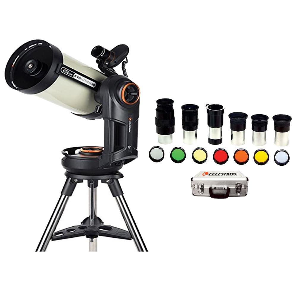 Celestron NexStar Evolution 8 EdgeHD Telescope +Celestron Eyepiece Accessory Kit by Celestron International