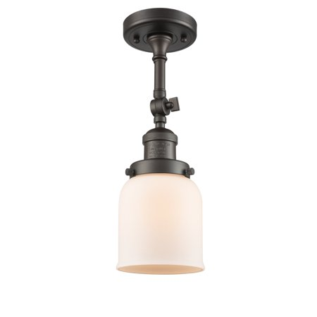 Oil Rubbed Bronze Pier Mount (Innovations 1-LT LED Small Bell 5