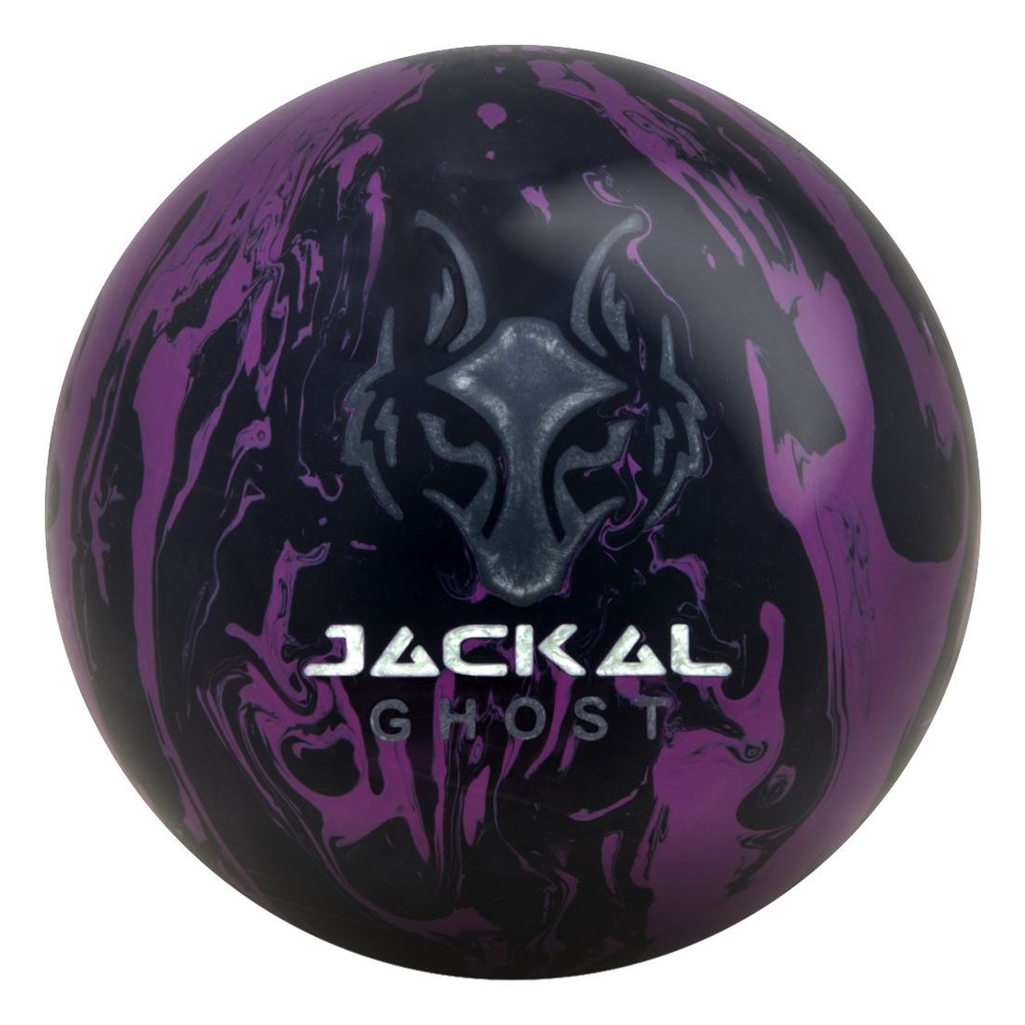 Motiv Jackal Ghost Bowling Ball- Black Purple (16lbs) by MOTIV Bowling Products