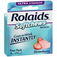 Rolaids Softchews Antacid Strawberry - 24 ct