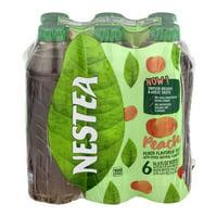 Nestea Peach Iced Tea, 16.9 Fl. Oz., 6 Count