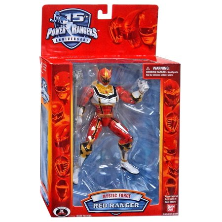 Power Rangers Mystic Force Red Ranger Action Figure [15th Anniversary Special (Power Rangers Mystic Force Morpher Fury Edition)
