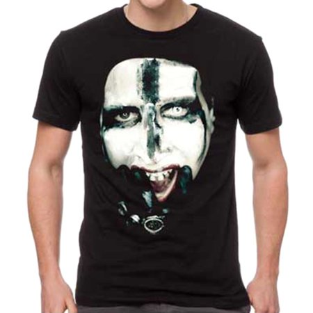 Marilyn Manson Men's Kill For Me T-Shirt - Halloween Marilyn Manson Official