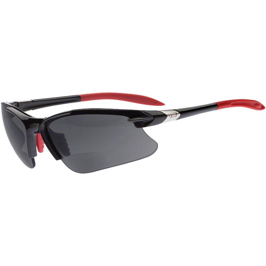 Dual Eyewear SL2 Pro Sunglasses +1.5 Power Magnification Black Frame/Gray Lens