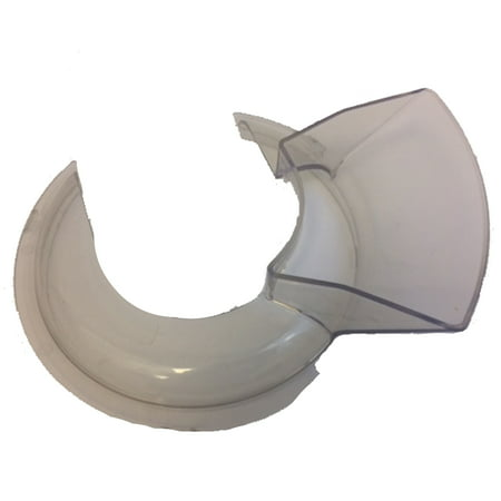 One Piece Pouring Shield (Masterpart Pouring Shield for Kitchenaid 4-1/2 and 5-Quart Stand Mixers KN1PS KPS2CL )
