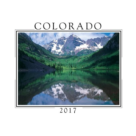 Colorado Mini Wall Calendar  2017 Colorado By Creative Arts Publishing
