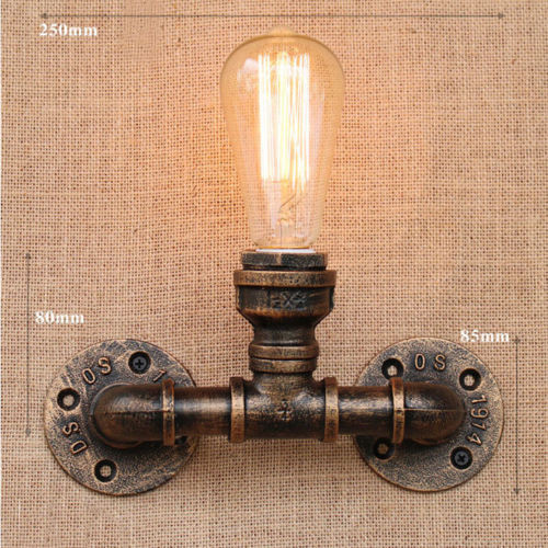 Vintage style lighting fixtures Loft This Button Opens Dialog That Displays Additional Images For This Product With The Option To Zoom In Or Out Walmart E27 Style Light Bulb Retro Vintage Industrial Edison Style Loft