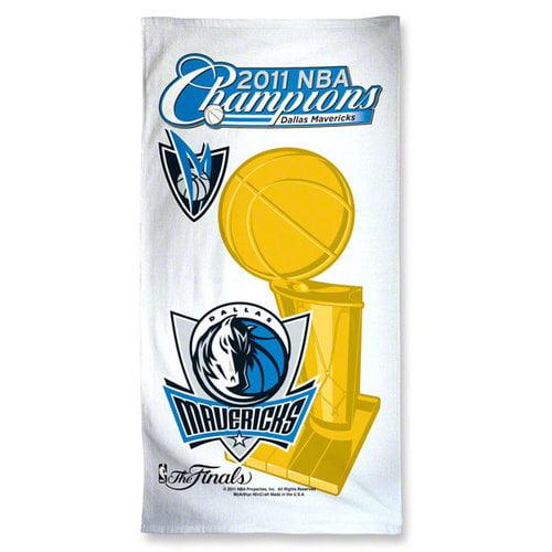 NBA - Dallas Mavericks 2011 NBA Champions 30x60 Fiber Reactive Beach Towel