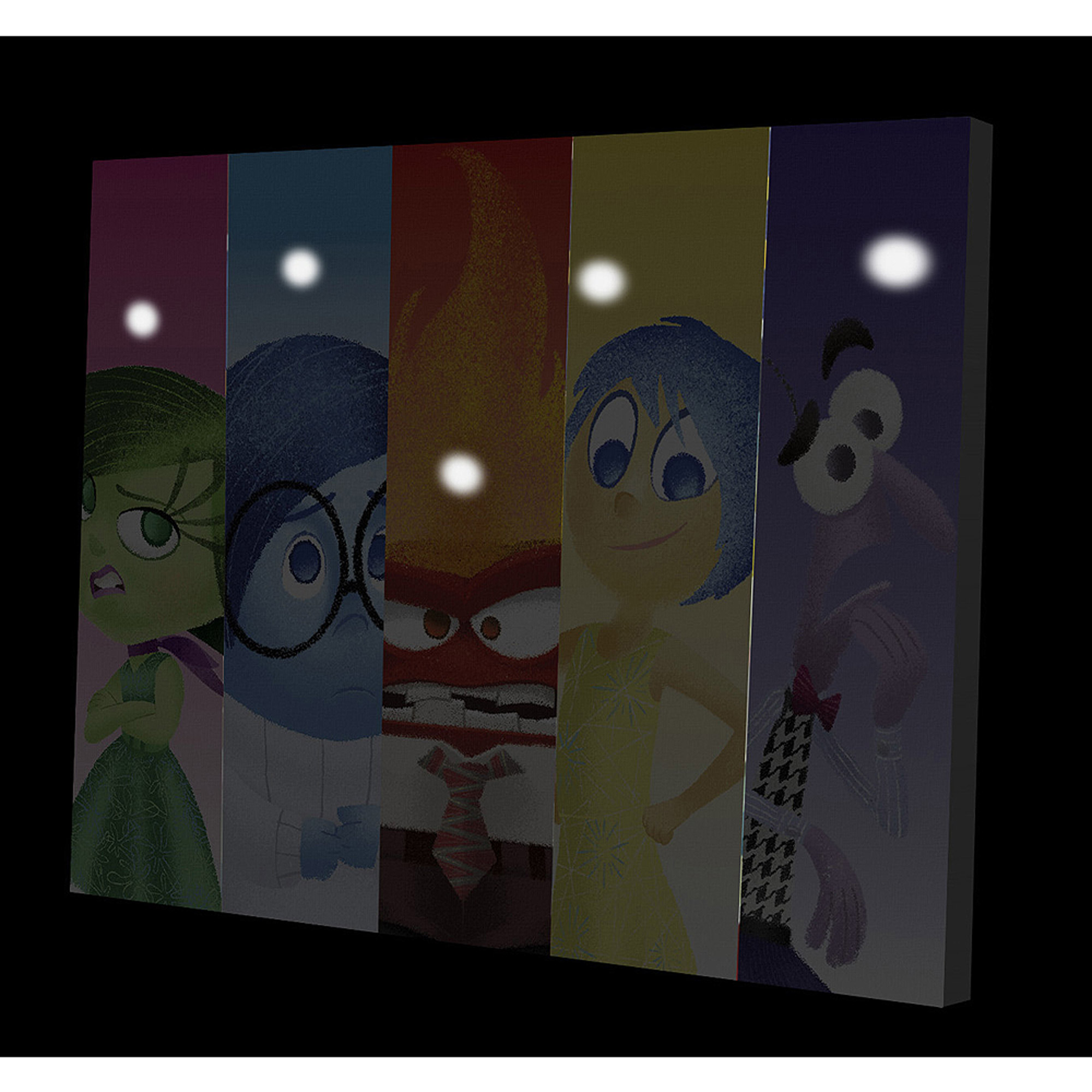 Led Wall Art disney pixar inside out led wall art - walmart