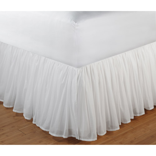 Greenland Home Cotton Voile Bed Skirt, Twin, Full, Queen Or King