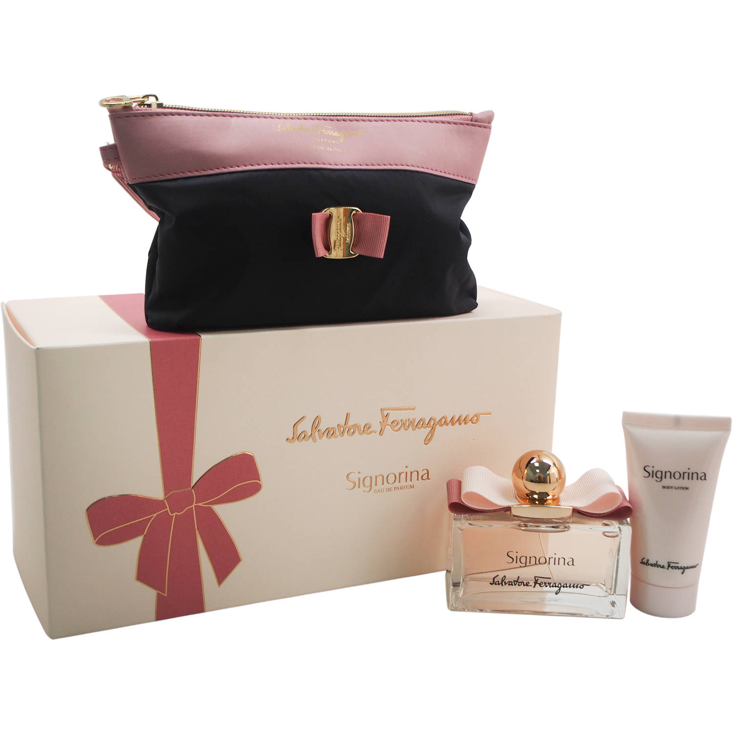 Signorina by Salvatore Ferragamo for Women Gift Set, 3 pc