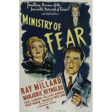 Ministry of Fear POSTER Movie Mini Promo (Ministry Halloween)