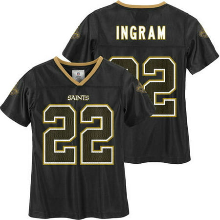 new concept ada80 db760 NFL New Orleans Saints Girls Mark Ingram Jersey