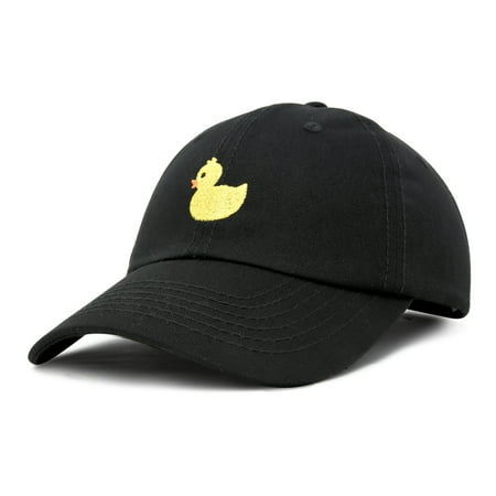 DALIX Cute Ducky Hat Infant Baseball Cap for Baby Girls and Boys in Black - Cute Graduation Caps