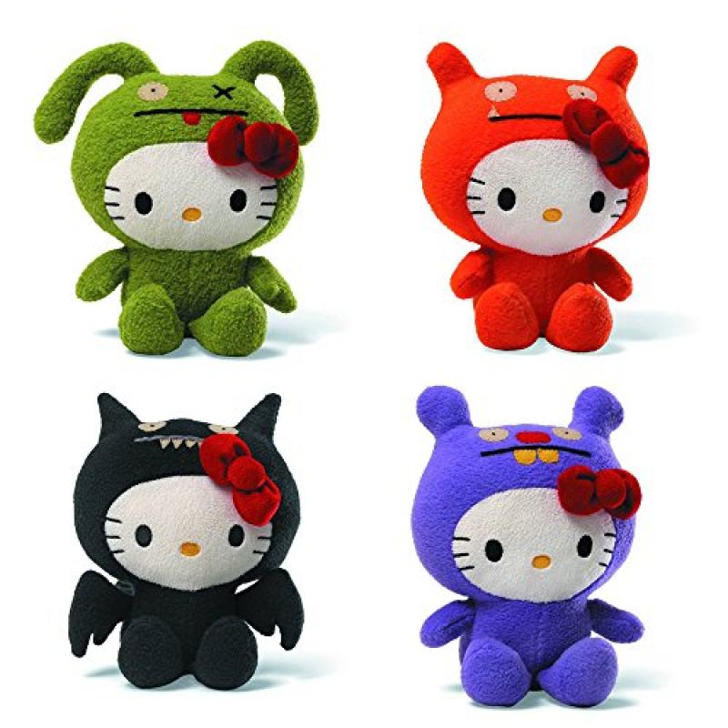 Hello Kitty Ugly Dolls _ Bundle of 4 unique dolls