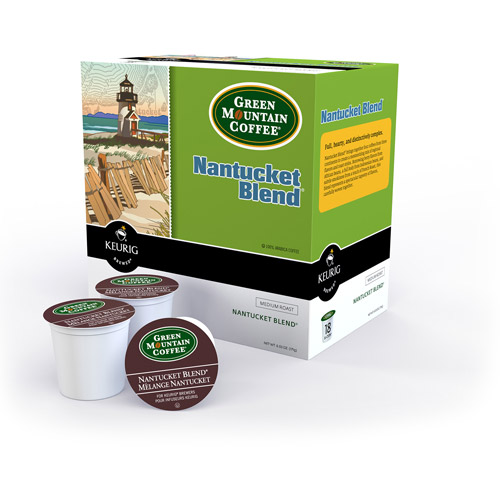 Keurig K-Cups, Green Mountain Nantucket Blend Coffee, 18 ct