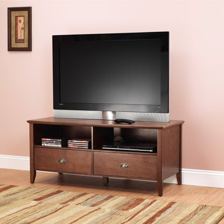 Sheridan TV Stand for TVs up to 50″, Walnut
