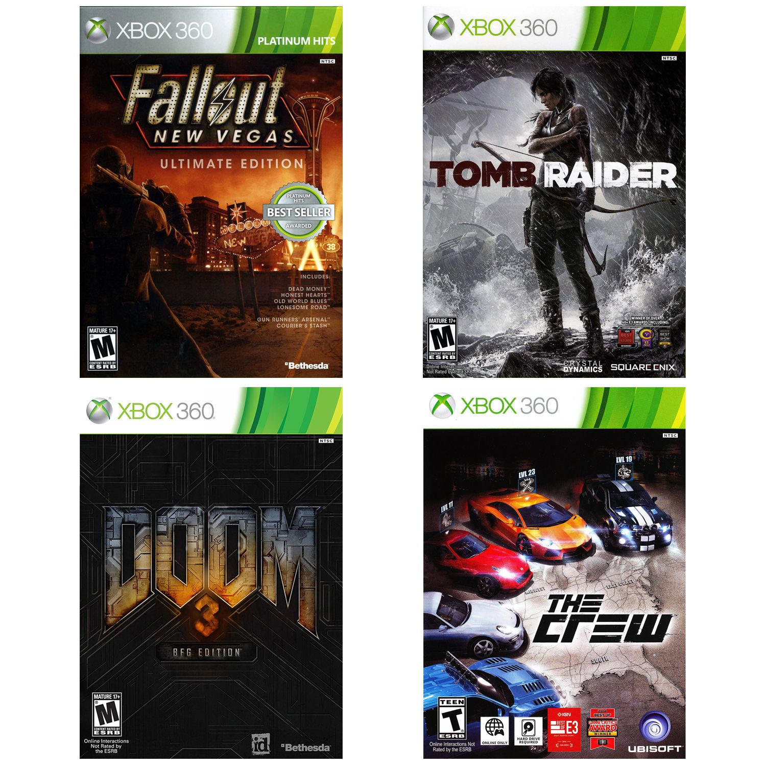 Xbox 360 Gamer Value Pack - 4 Games (Pre-Owned) (Xbox 360)